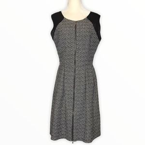 MAX & CLEO Womans Soft Tweed A-Line Style Dress